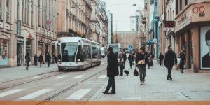 Tramway Bombardier à Nancy