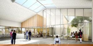 Transformation du centre technique municipal en pole ressources associatives et culturelles de Roncq (59)